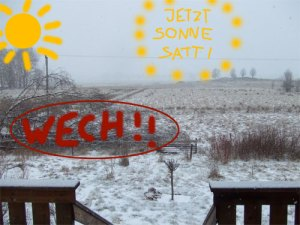 Auch im Winter jetzt reichlich Sonne!